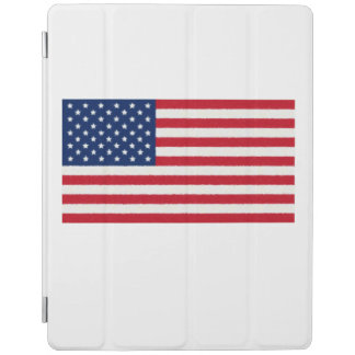United States Flag Oil Painting iPad Cover