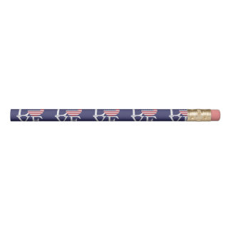 United States Flag Pencil