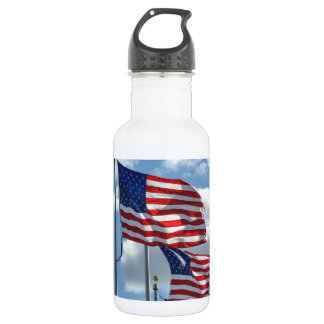 United States Flag Photograph 532 Ml Water Bottle