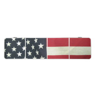 United States Flag Regulation Size Beer Pong Table