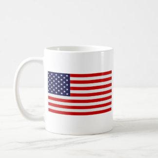 United States Flag - Stars and Stripes! Basic White Mug