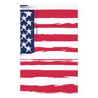 UNITED STATES flag Stationery