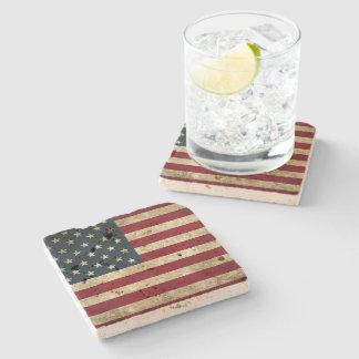 United States Flag Stone Coaster! Stone Coaster