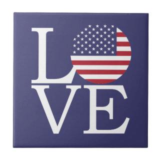 United States Flag Tile