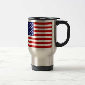 United States Flag Travel Mug