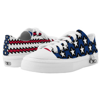 United States Flag USA Pride Low-Top Sneakers