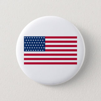United States Flag with the 51 Stars 2 Inch Round Button