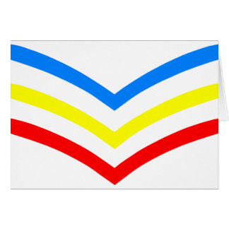 United States Gay Sergeant Stripes Card