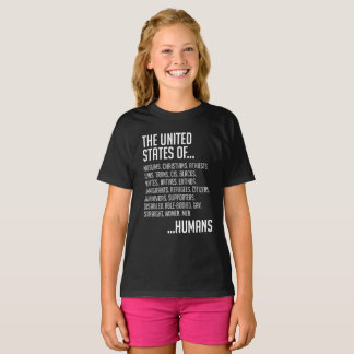 United States Girl's Dark T-Shirt