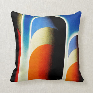 United States Lines Throw Pillow