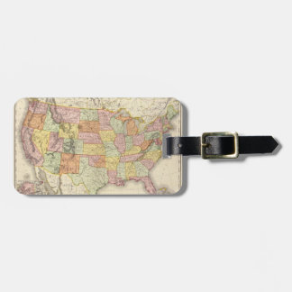 United States. Luggage Tag