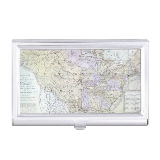 UNITED STATES MAP, c1812 Business Card Cases
