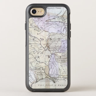 UNITED STATES MAP, c1812 OtterBox Symmetry iPhone 7 Case