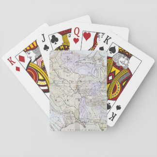 UNITED STATES MAP, c1812 Poker Deck
