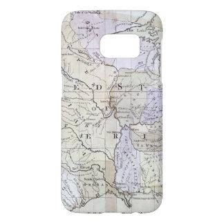 UNITED STATES MAP, c1812 Samsung Galaxy S7 Case