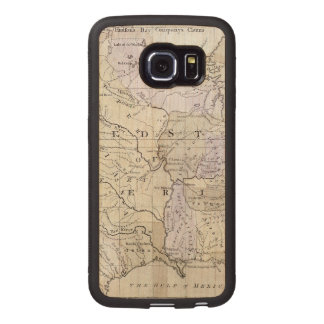 UNITED STATES MAP, c1812 Wood Phone Case