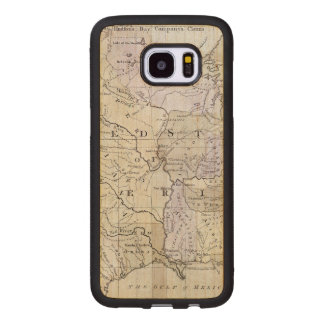 UNITED STATES MAP, c1812 Wood Samsung Galaxy S7 Edge Case