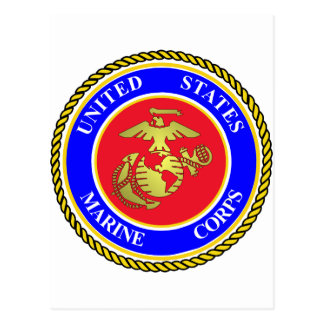 United States Marine Corps Postcard