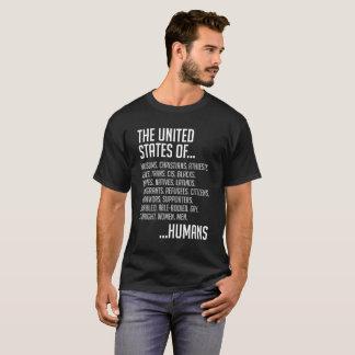 United States Men's Basic Dark T-Shirt