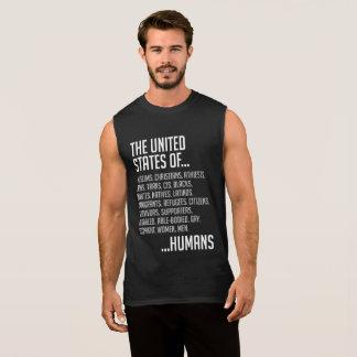 United States Men's Dark Muscle Tank