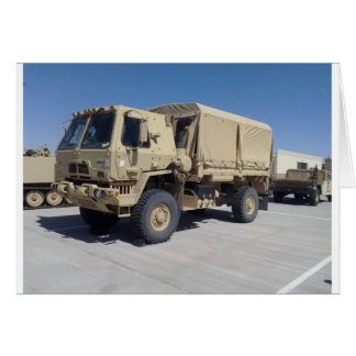 UNITED STATES MILITARY ARMOR GREETING CARDS