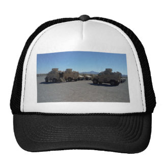 UNITED STATES MILITARY ARMOR TRUCKER HAT