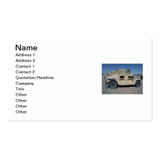 UNITED STATES MILITARY BUSINESS CARD