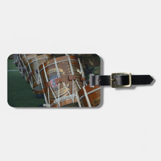 United States Military Drum Line Luggage Tag