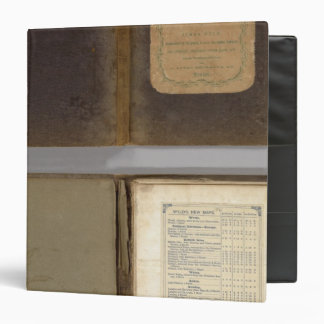 United States military map 3 Ring Binders