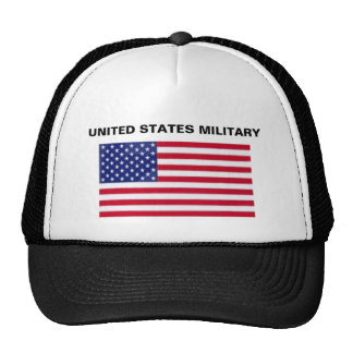 UNITED STATES MILITARY TRUCKER HAT