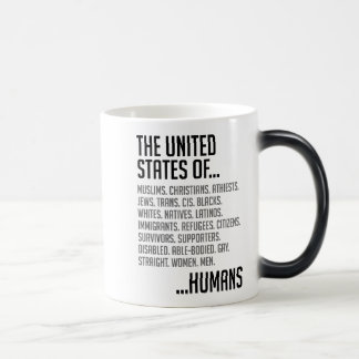 United States Morphing Mug