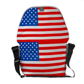 United states national flag messenger bag