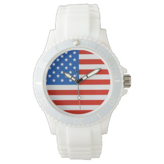 United states national flag watch