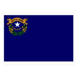 United States Nevada Flag Postcard