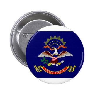 United States North Dakota Flag Pins