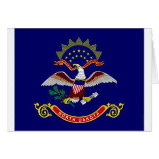 United States North Dakota Flag Cards