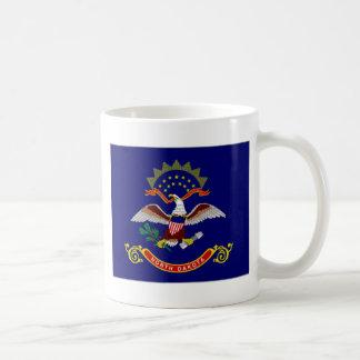 United States North Dakota Flag Coffee Mug