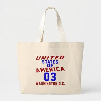 United States Of America 03 Washington D.C. Large Tote Bag