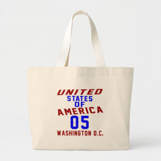 United States Of America 05 Washington D.C. Large Tote Bag