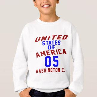 United States Of America 05 Washington D.C. Sweatshirt