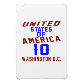United States Of America 10 Washington D.C. iPad Mini Case