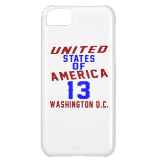 United States Of America 13 Washington D.C. iPhone 5C Case