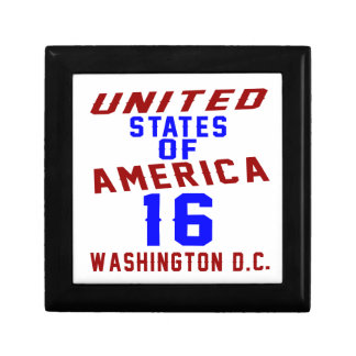 United States Of America 16 Washington D.C. Gift Box