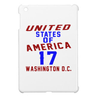 United States Of America 17 Washington D.C. Case For The iPad Mini