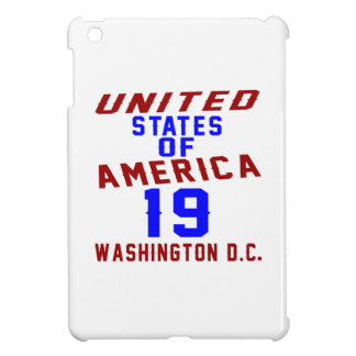 United States Of America 19 Washington D.C. iPad Mini Covers