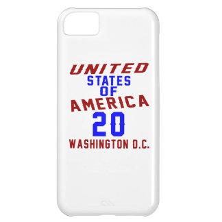 United States Of America 20 Washington D.C. iPhone 5C Cover