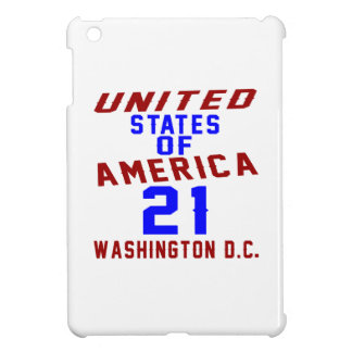 United States Of America 21 Washington D.C. iPad Mini Cover