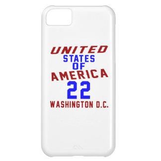 United States Of America 22 Washington D.C. iPhone 5C Cases