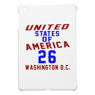 United States Of America 26 Washington D.C. iPad Mini Covers
