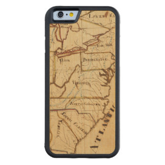 United States of America 2 Carved Maple iPhone 6 Bumper Case